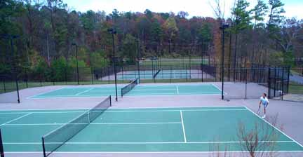 Photo of Bradford Park Tennis Courts
